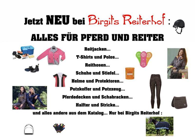hot sale online 0196c f7cbb Reiterladen - birgits-reiterhof.de